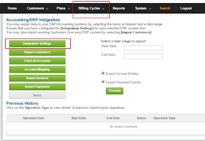 QuickBooks Recurring Billing Accounting Integration