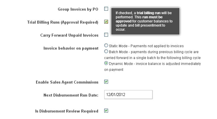 4 3 Invoice Review/Trial Billing Runs - BluBilling User Guide